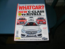 WHAT CAR ?   MAGAZINE    AUGUST      2014     ENGLISH MONTHLY