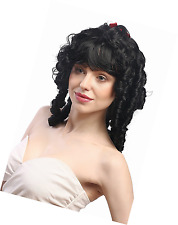 WIG ME UP ® - 63024-P103 Lady Wig for Halloween Fancy Dress Victorian Coloni