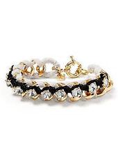 Banana Republic Womens Woven Crystal Friendship Bracelet NWT 45