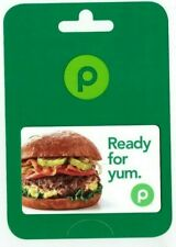 PUBLIX Gift Card Sandwich / Ready for yum - No Value - I Combine Shipping