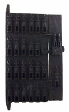 Porte Dogon Grenier à mil Mali 71x39 cm - Volet Case- Art africain - 1063