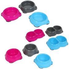 Animal Instincts Cat Dog Puppy Quality Plastic Pet Food Water Bowl Dish Non Slip