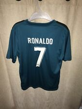 Ronaldo Real Madrid Third Shirt 17-18 La Liga Youths Size 24 Adidas 20017/18 S