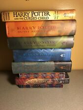 Harry Potter  Book Set 1-7 J. K. Rowling Mixed P/b H/b +the Cursed Child Used