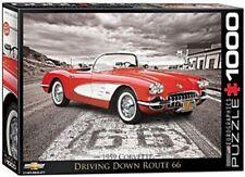 Eurographics 1957 Corvette Classic Car Puzzle (1000 Pieces)