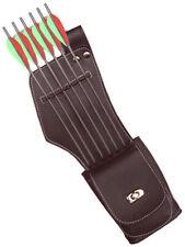 Sintéticas side/hip mano derecha Carcaj Con Bolsillo Archery Products saq142 marrón