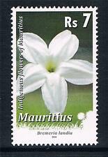 Mauritius 2010 7r Flowers REPRINT 1v (SG 1184reprint) MNH