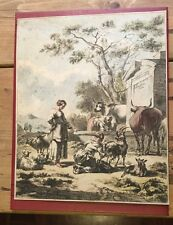 c1800 - Pastoral Scene, After Berghem.