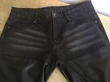 Pantalon Jean Femme Noir Mango Taille 38