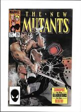 """NEW MUTANTS #29 [1985 FN-VF] """"SUNSPOT vs. THE GLADIATORS TO THE DEATH!"""""""