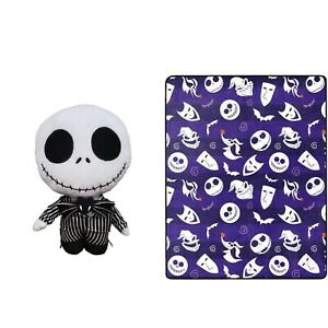 2pc The Nightmare Before Christmas Jack Skellington Throw and Pillow | 🆕