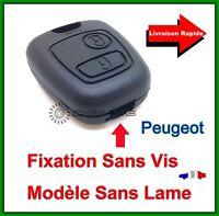 Coque Télécommande Plip Clé  Plip 2 Boutons Pour Peugeot 406 Coupé SW Partner