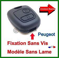 Coque Télécommande Plip Clé  Plip 2 Boutons Peugeot 406 Coupé SW Partner