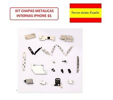 KIT JUEGO CHAPAS METALICAS INTERNAS PARA IPHONE 6S