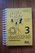 Das Ding Band 3 ohne Noten - Kultliederbuch-400 Songs-Git.Ges.Akk.Keyb. Dux 88