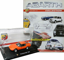 ABARTH SCORPIONE SS (1968) - 1/43 - ABARTH COLLECTION n. 05