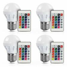 RGB LED Light Bulb 16 Colors Changing Magic Lamp 3W E27 + IR Remote Control