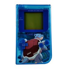 Pokemon Blastoise custom Nintendo Gameboy shell housing diy blue