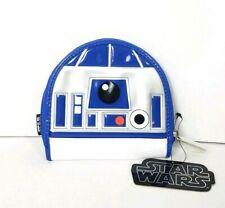 Disney Parks Star Wars Loungefly R2-D2 Zip Around Wallet Coin Purse k