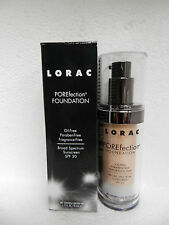 LORAC POREFECTION LIQUID PORELESS FOUNDATION PR3 LIGHT BEIGE SPF20 FULL SIZE NIB
