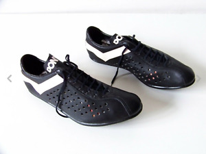 vintage cycling shoes 42,5 leather nos!