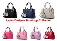 Ladies Handbag Women Leather Luxury Handbag Shoulder Tote Purse Party Bag 78815