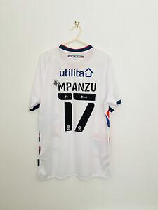Luton Town Football Shirt - 2020/2021 - Away - Large - Mpanzu #17 - BNWT