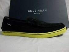 Cole Haan Size 8.5 M Nantucket Black Suede Loafers New Mens Shoes
