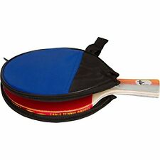 Vigilante Rage Table Tennis, Ping Pong Paddle w/ High Performance Rubber & Case