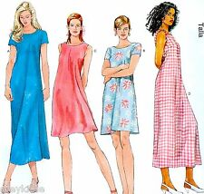 BRAND NEW Easy Miss Plus Size 22-26 1 Hr Dress Uncut Sewing Pattern McCalls 6102
