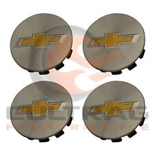 2011-2016 Chevrolet Cruze Genuine GM Aluminum Center Caps Set Of 4 20914866