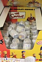 THE SIMPSONS figurines  32 surprise eggs + shop display box and tray 2003 bulk