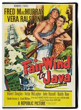 Fair Wind to Java 1953 DVD - Fred MacMurray, Vera Ralston, Robert Douglas