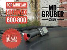 quick release mechanismcontrol unit for Minelab Equinox/600/800 metal detector