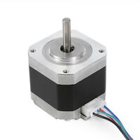 34/40/48/60mm 1.8 Degree NEMA17 2Phase 4wire Stepper Motor Fr 3D Printer Bracket