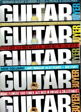 Various Issues of GUITAR BUYER Magazine from January 2007 to March 2012
