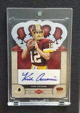 Kirk Cousins Rookie Autograph 2012 Panini Crown Royale Football
