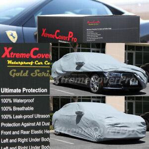 1999 2000 2001 BMW 740i 740iL 750iL Waterproof Car Cover w/MirrorPocket GRAY