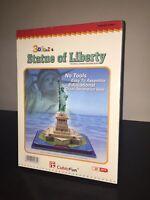 CubicFun Puzzle 3D LA STATUA DELLA LIBERTA' Statue of Liberty 39 Pezzi Sigillato