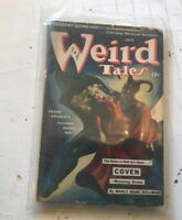 Weird Tales Pulp July 1942 Brundage Devil cover Manly Wade Wellman pulp magazine