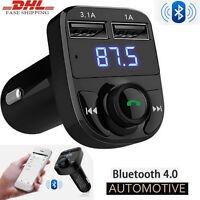 Bluetooth Car Kit MP3 Player FM Transmitter Wireless USB Charger Radio Adapter