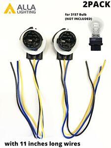 2x 3157 Front Turn Signal Lamp-Socket Parking Light Bulb-Holder for Chevy Camaro
