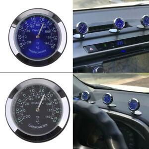 Mini Auto Außentemperaturanzeige Thermometer Messung Innen/Außen Selbstklebend