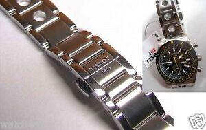 Genuine Tissot S/S PRS516 Nascar PRS 516 bracelet.strap.band T91.1 chronograph