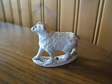 Vintage Chalk w/ Sealant Painted Nativity Sheep