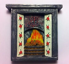 Resin Fireplace (RF1) Dolls House Miniature Living Room 1.12th Scale