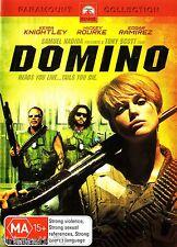 DOMINO Keira Knightly / Mickey Rourke DVD Set R4  NEW