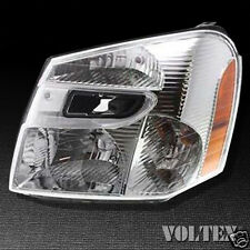 2005-2009 Chevrolet Equinox Headlight Lamp Clear lens Chevy Halogen Driver Left