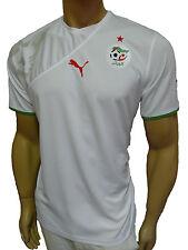 PUMA Algérie tricot pour enfants blanc 2010-2011 Taille 152 NEUF +