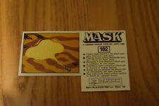 Mask Panini sticker 1986 ( M.A.S.K.  Kenner parker toys ) number 182